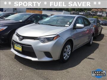 2016 Toyota Corolla for sale in Seattle, WA