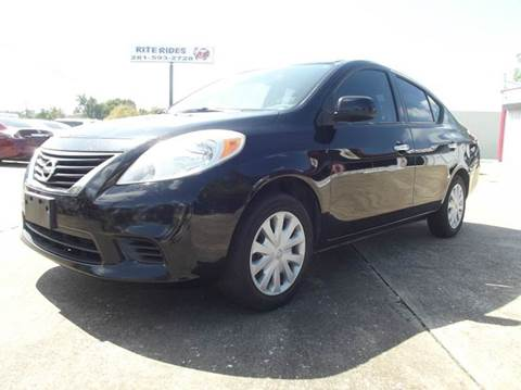 2012 Nissan Versa for sale in Cleveland, TX
