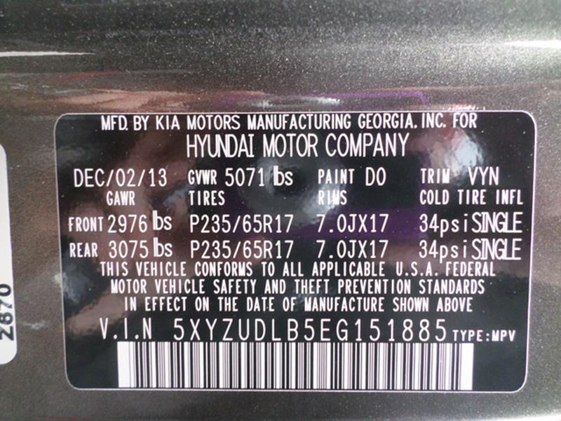 2014 Hyundai Santa Fe Sport AWD 2.4L 4dr SUV - Waterbury CT