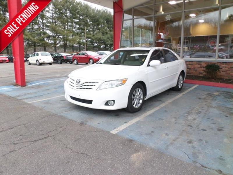 2011 Toyota Camry XLE 4dr Sedan 6A In Waterbury CT - Apple Auto ...