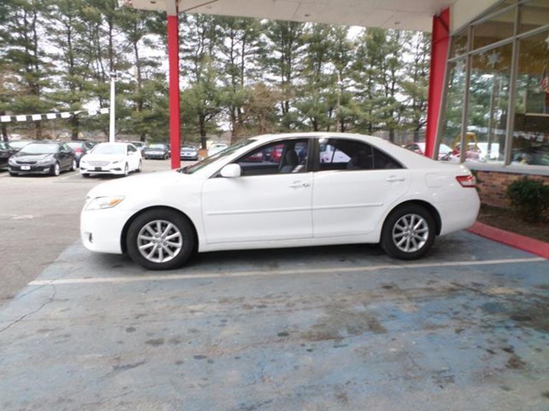 2011 Toyota Camry XLE 4dr Sedan 6A In Waterbury CT - Apple Auto ...