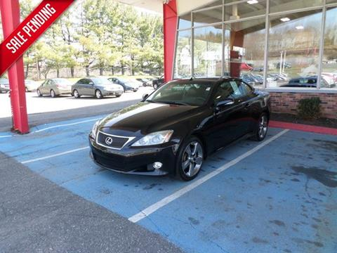 2010 Lexus IS 250C for sale in Waterbury, CT