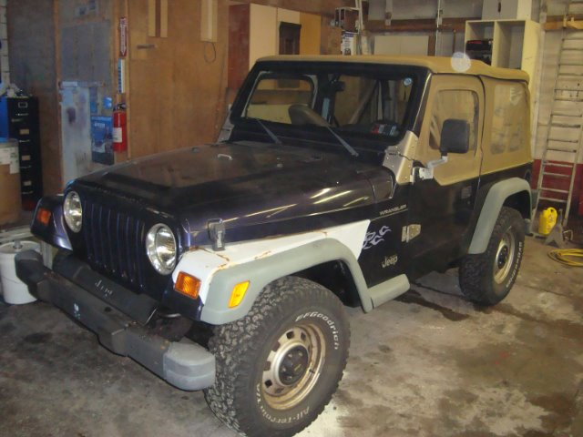 1998 Jeep Wrangler For Sale In Homestead Pa
