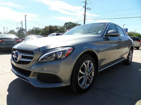 2015 Mercedes-Benz C-Class for sale in Houston, TX