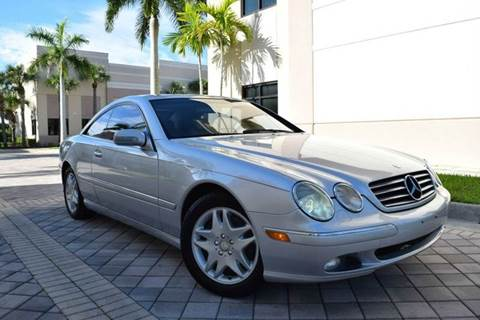 2002 mercedes benz cl class for sale for Low cost mercedes benz