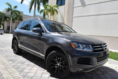 2013 Volkswagen Touareg for sale in Royal Palm Beach, FL