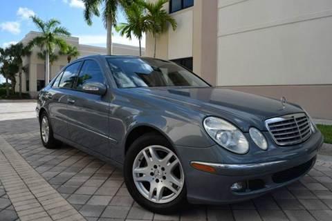 2006 Mercedes-Benz E-Class for sale in Royal Palm Beach, FL