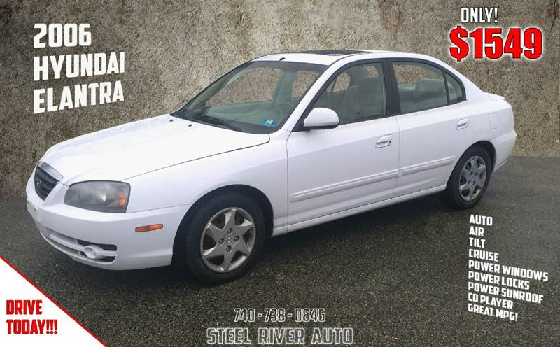 2006 Hyundai Elantra GLS 4dr Sedan - Bridgeport OH