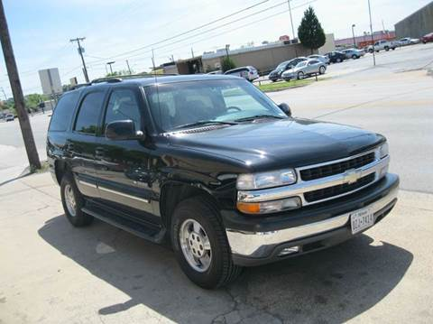 2001 chevrolet tahoe for sale for Barclay motors arlington tx