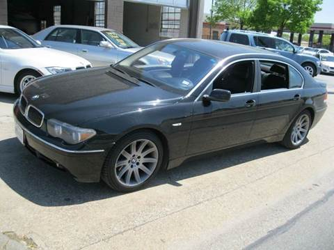 2003 bmw 7 series for sale for Barclay motors arlington tx