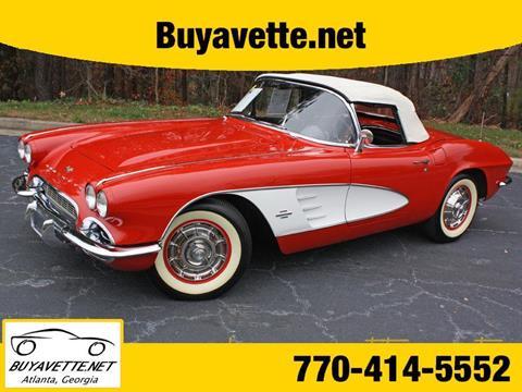 used 1961 chevrolet corvette for sale. Black Bedroom Furniture Sets. Home Design Ideas