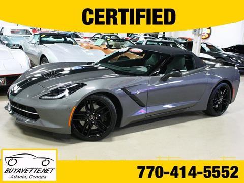 2015 Chevrolet Corvette for sale in Atlanta, GA