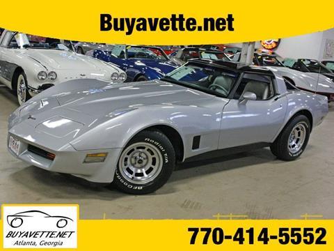 1981 Chevrolet Corvette for sale in Atlanta, GA