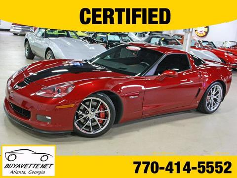 used chevrolet corvette for sale in atlanta ga. Black Bedroom Furniture Sets. Home Design Ideas