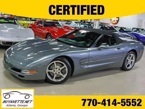 2003 Chevrolet Corvette for sale in Atlanta, GA
