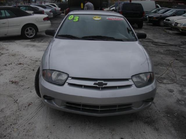 2003 CHEVROLET CAVALIER COUPE silver air conditioning standard power windowslocks power steeri