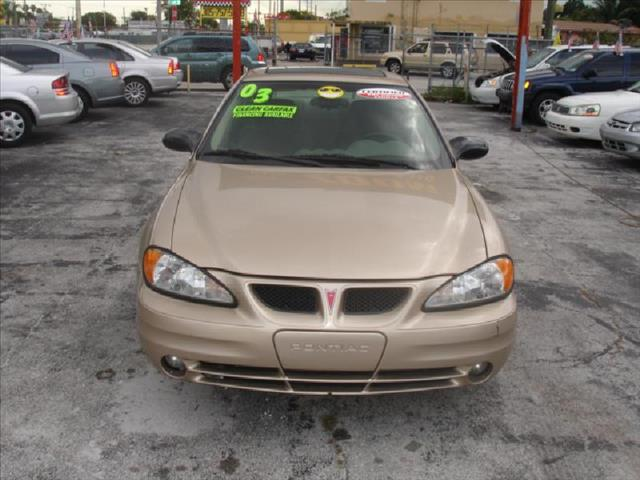 2003 PONTIAC GRAND AM SE1 gold air conditioningpower windowslocks power steering tilt wheel e
