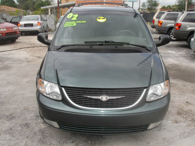 2002 CHRYSLER TOWN  COUNTRY LIMITED gray cold air conditioning power windowslockspower steerin