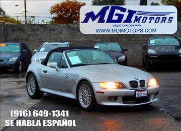 2002 bmw z3 for sale in sacramento ca bmw z3 1996 side aa