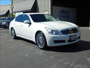 2007 Infiniti G35 for sale in Sacramento, CA