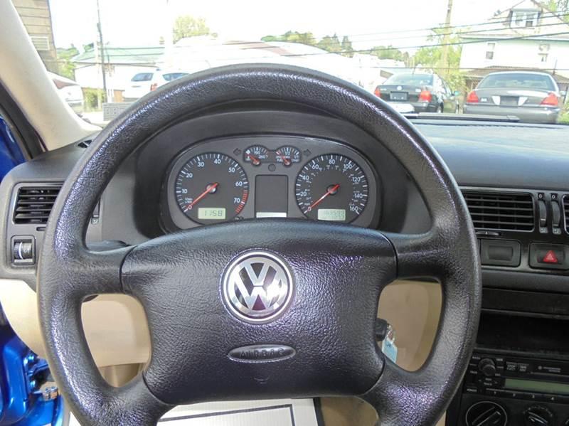 2001 Volkswagen Jetta GL 4dr Sedan - Uniontown PA