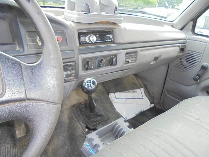 1996 Ford F-250 2dr XL Standard Cab LB HD - Uniontown PA