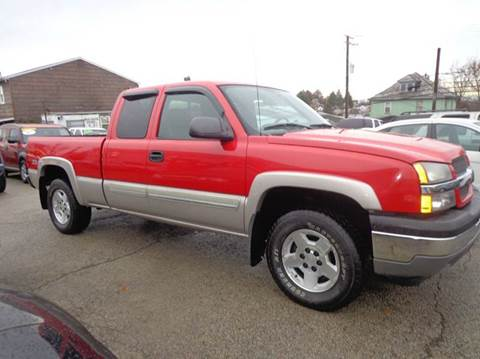 2005 Chevrolet Silverado 1500 for sale in Uniontown, PA