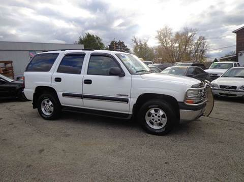 2003 Chevrolet Tahoe for sale in Uniontown, PA