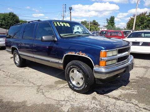 1999 Chevrolet Suburban for sale in Uniontown, PA
