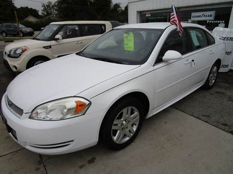2012 Chevrolet Impala for sale in Dunlap, IL