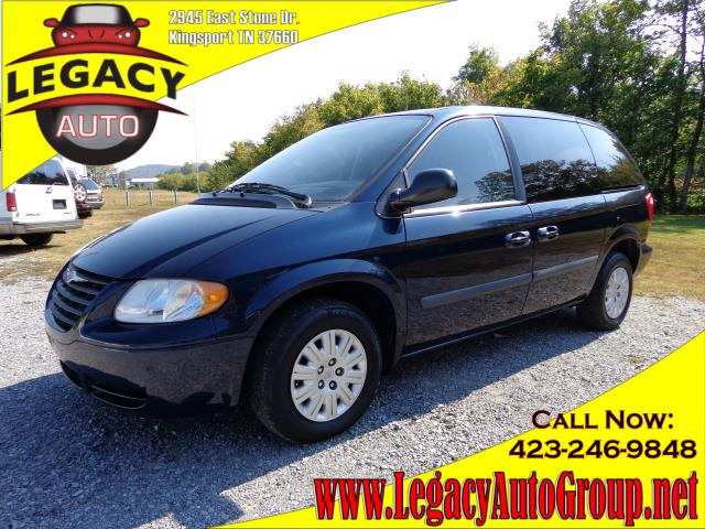 2006 CHRYSLER TOWN  COUNTRY blue 3rd row seatspower steeringpower brakespower door lockspower