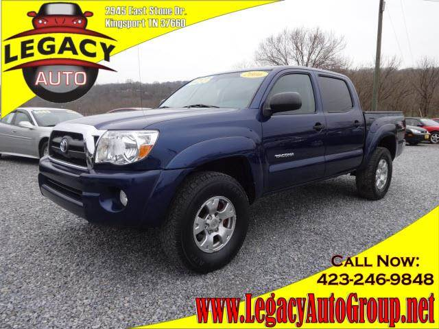 used 2006 toyota tacoma v6 in kingsport tn at legacy auto. Black Bedroom Furniture Sets. Home Design Ideas