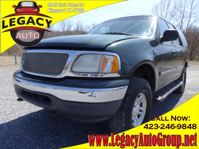 2001 FORD EXPEDITION XLT green 154760 miles VIN 1FMPU16LX1LA45260