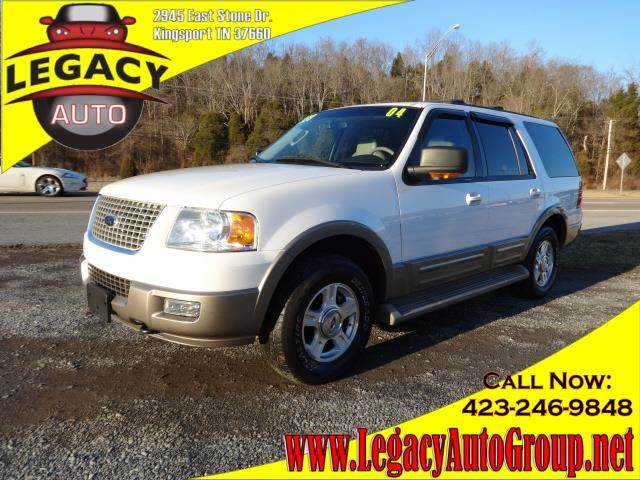 2004 FORD EXPEDITION EDDIE BAUER white 129535 miles VIN 1FMPU18L34LB90416