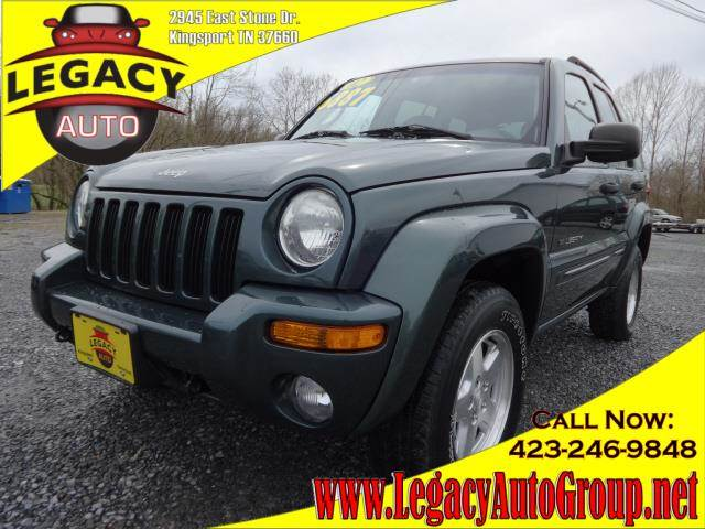 2002 JEEP LIBERTY LIMITED green power steeringpower brakespower door lockspower windowsamfm s
