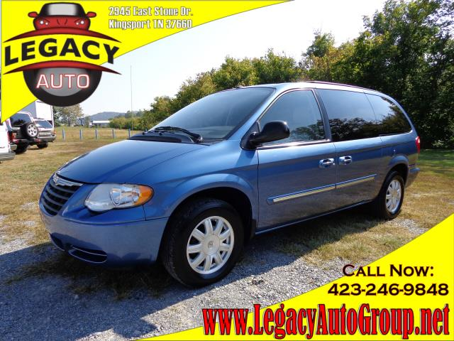 2007 CHRYSLER TOWN  COUNTRY TOURING ED blue 127022 miles VIN 2A4GP54L67R266483