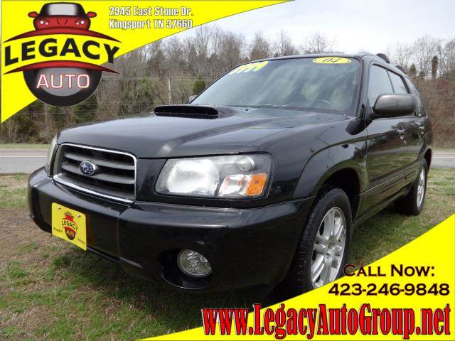 2004 SUBARU FORESTER 25 XT black power steeringpower brakespower door lockspower windowsamfm