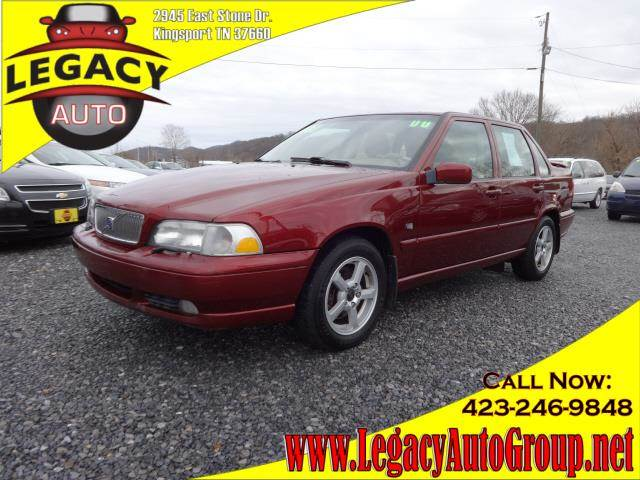 2000 VOLVO S70 maroon power drivers seatpower passenger seatseat position memoryleather upholst