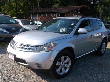 2006 Nissan Murano for sale in Fredericksburg, VA