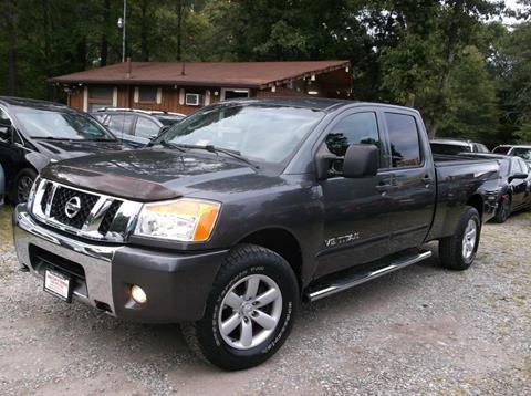 2008 Nissan Titan for sale in Fredericksburg, VA