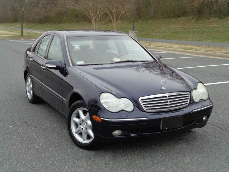 2002 mercedes benz c class c240 4dr sedan in fredericksburg va charlotte international inc. Black Bedroom Furniture Sets. Home Design Ideas