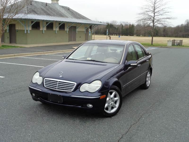 2002 mercedes benz c class c240 4dr sedan in for Mercedes benz fredericksburg va