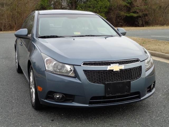 2012 chevrolet cruze eco 4dr sedan in fredericksburg va charlotte international inc. Black Bedroom Furniture Sets. Home Design Ideas