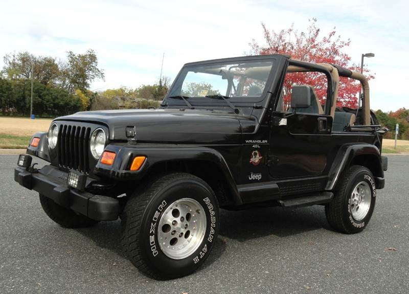 2000 jeep wrangler for sale - Jeep wrangler red interior for sale ...