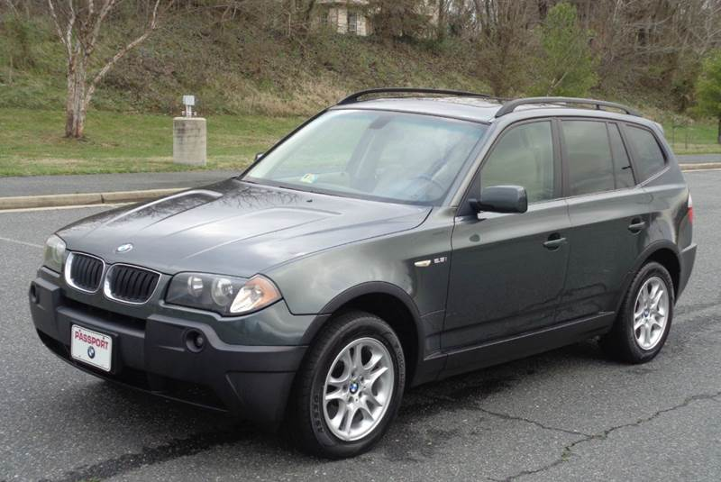 2004 bmw x3 awd 4dr suv in fredericksburg va. Black Bedroom Furniture Sets. Home Design Ideas