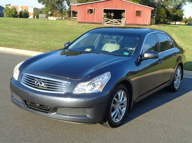 2008 infiniti g35 journey 4dr sedan in fredericksburg va. Black Bedroom Furniture Sets. Home Design Ideas