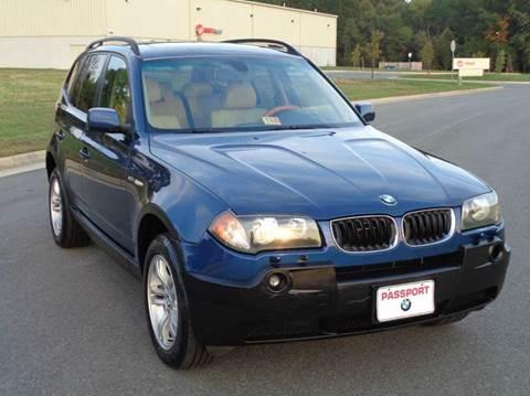 2004 BMW X3 for sale in Fredericksburg, VA