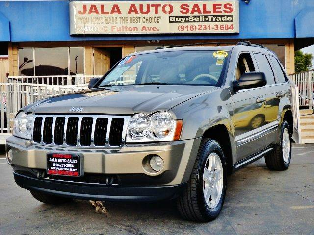 2005 Jeep Grand Cherokee Limited 4wd 4dr Suv In Sacramento Carmichael Citrus Heights Jala Auto Sales
