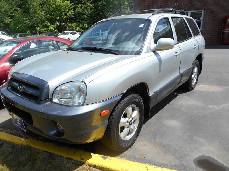 2005 hyundai santa fe gls awd 4dr suv in hudson nh roys auto sales service llc. Black Bedroom Furniture Sets. Home Design Ideas