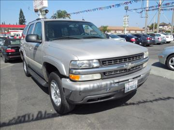 2004 Chevrolet Tahoe for sale in Stanton, CA